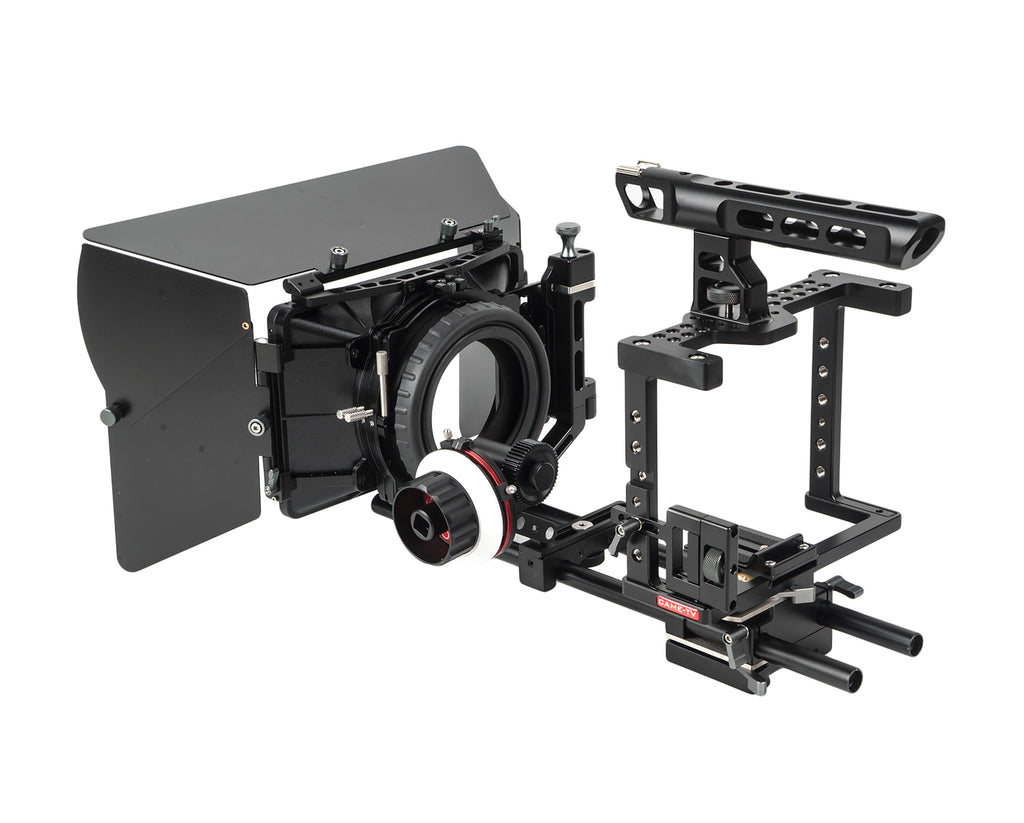 CAME-TV DSLR Cage For GH4 & SONY A7s & 5D Mark III