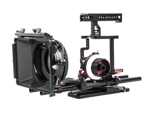 CAME-TV Guardian Cage For GH5 GH4 A7S Camera Rig With Mattebox Follow Focus Z-GH5-3