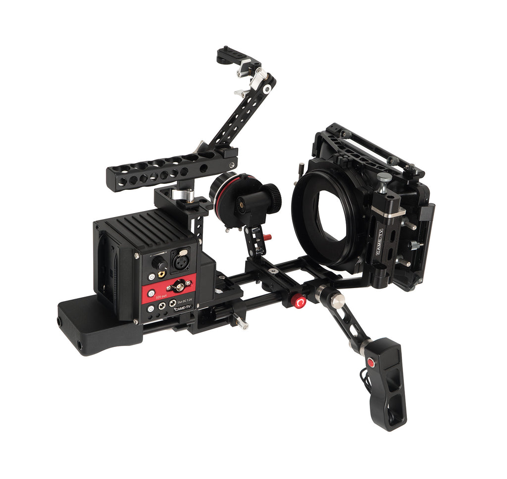 CAME-TV Terapin Rig with Mattebox Follow Focus For Sony A7R2, A7S2 and A72