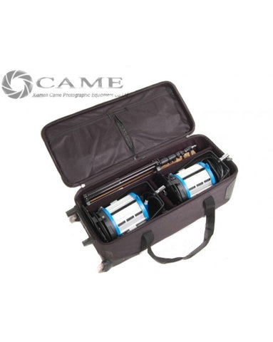 Dimmer+ 2pcs 1000W Fresnel Tungsten Spot Lighting + Hard Bag