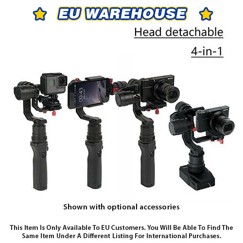 CAME-TV SPRY 4 In 1 Gimbal With Detachable Head - European Warehouse
