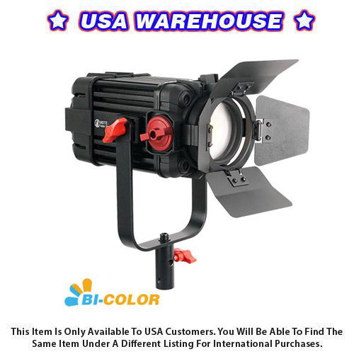 1 Pc CAME-TV Boltzen 100w Fresnel Focusable LED Bi-Color - USA Warehouse