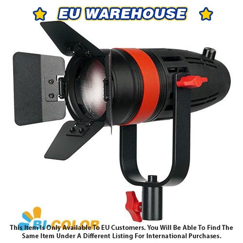 1 Pc CAME-TV Boltzen 55w Fresnel Focusable LED Bi-Color With Bag - European Warehouse