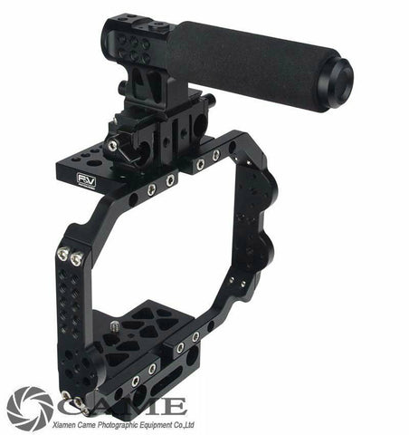 F&V BMC Cage for BlackMagic Design Cinema 15mm Rail Advanced BMCC