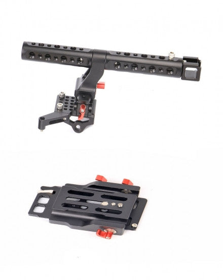 For EOS C300 Mark II CAME-TV Top Handle And Base Plate