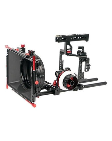 For Sony A7RII CAME-TV Camera Rig Mattebox Follow Focus Kit
