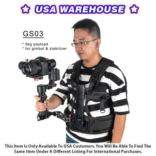 CAME-TV Steadycam Gimbal Support with a 11lbs Payload Arm - USA Warehouse