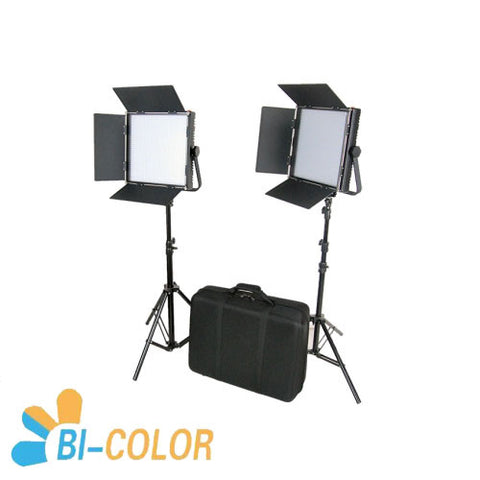 CAME-TV High CRI Bi-color 2 X 1024 LED Video Lights TV Lighting