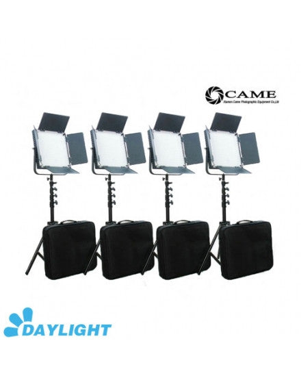 High CRI 4 X 900 LED Video Light 5600K Studio Broadcast Lighting