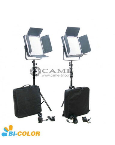 High CRI Bi-Color 2pcs 900 LED Video Lights Studio Film Lighting