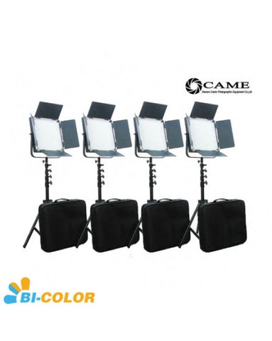 High CRI Bi-Color 4pcs 900 LED Video Lights Studio Film Lighting