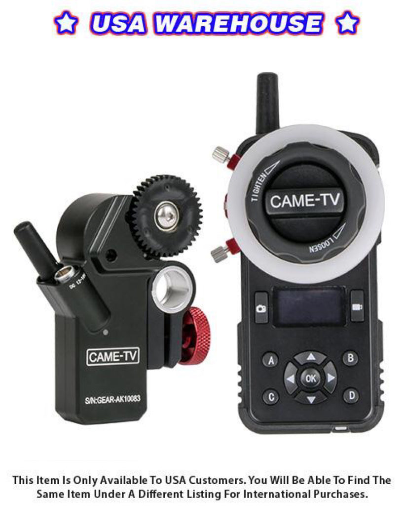 CAME-TV Astral Wireless Follow Focus - USA Warehouse