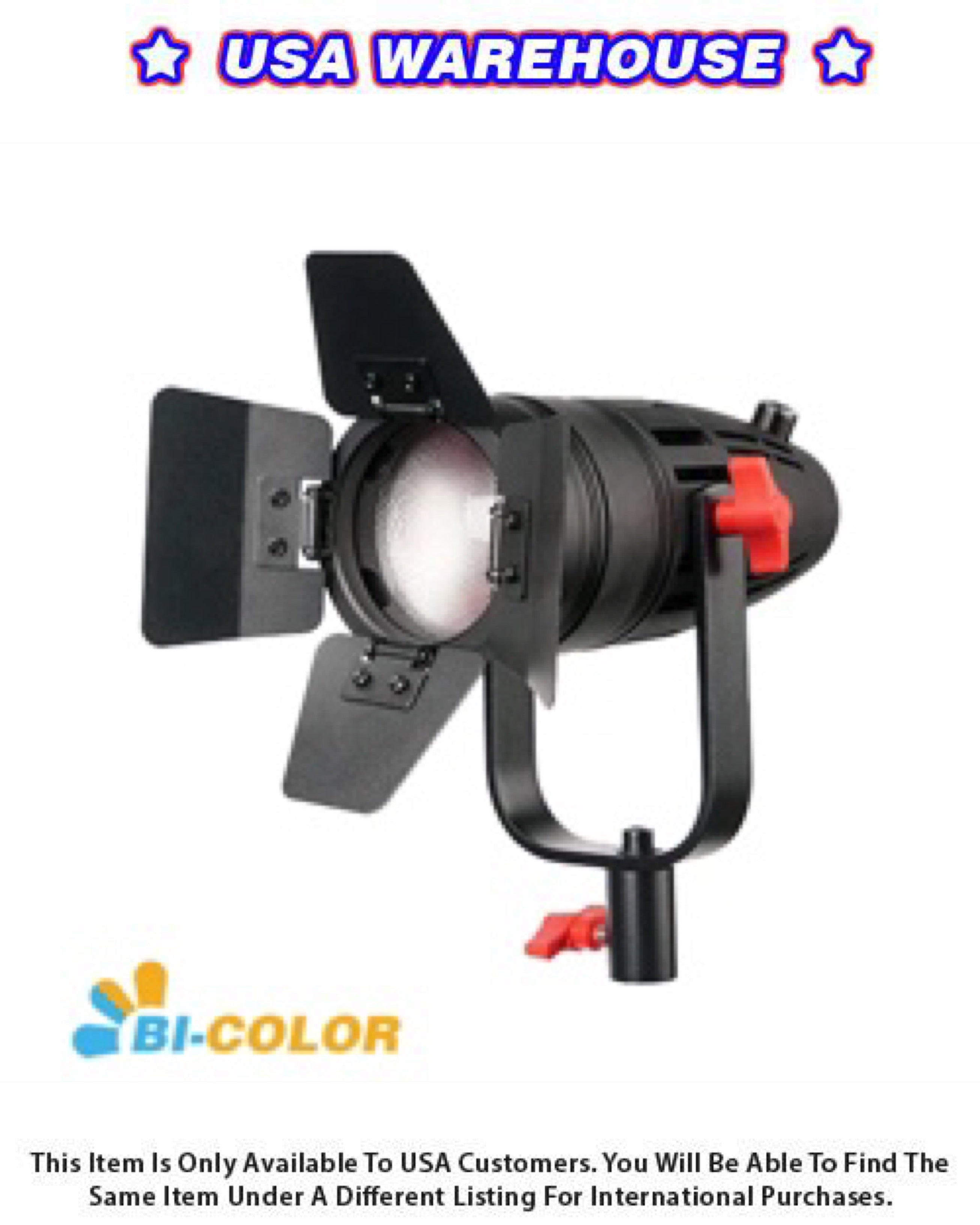 CAME-TV Boltzen 30w Fresnel Fanless Focusable LED Bi-Color 5800 Lux@1m - USA Warehouse