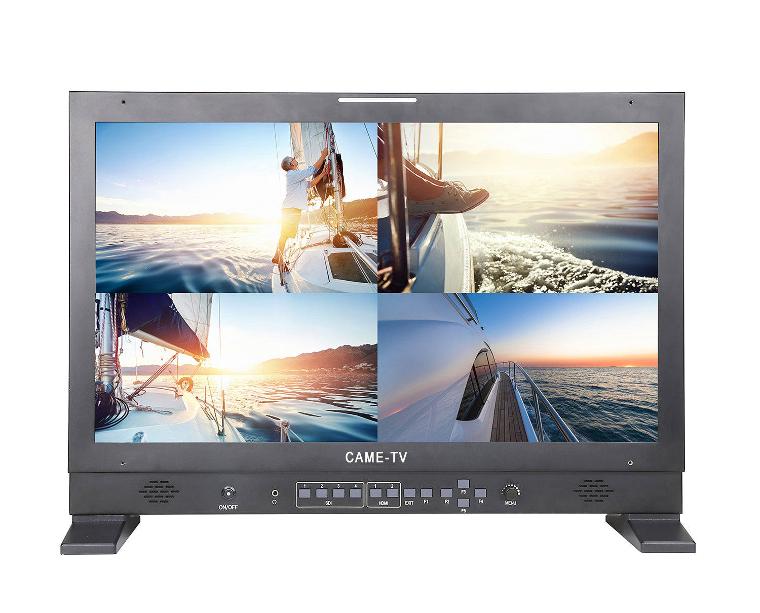 Portable  4K 24 Inch HDMI  SDI Multi-view Monitor