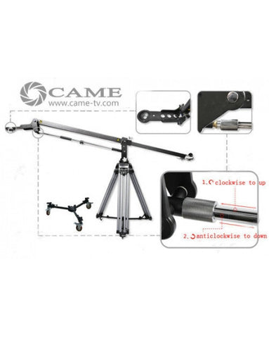 Kit Load 30kg 67lbs Crane Jib + 110kg Load Tripod +200kg Dolly