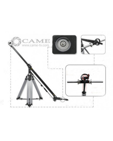 Kit Load 67lbs 30kg Camera Crane Jib Arm + 110kg Load Tripod