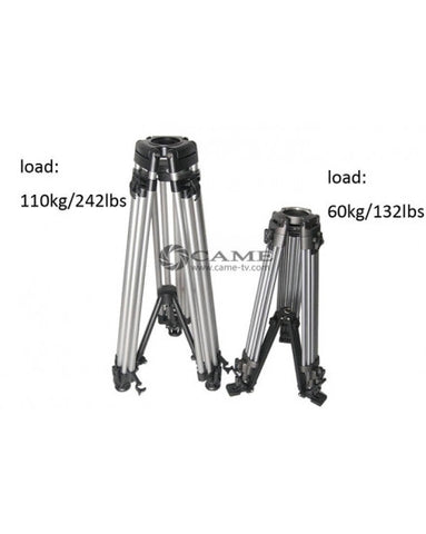 Load 110kilo /242 Lbs Video Heavy Tripod For Camera Jib Arm