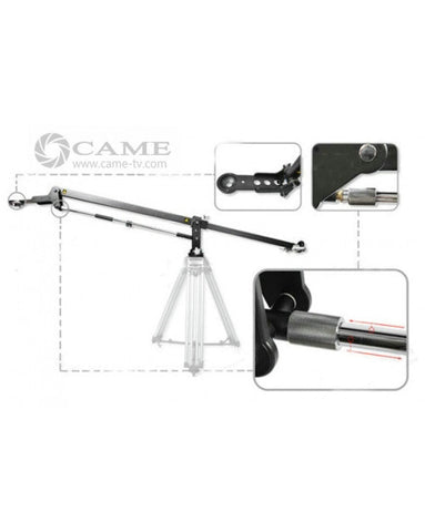 Load 30kilo /67 Lbs Camera Crane Jib Arm For Broadcast Video