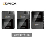 Comica BoomX-D D2 Wireless Microphone