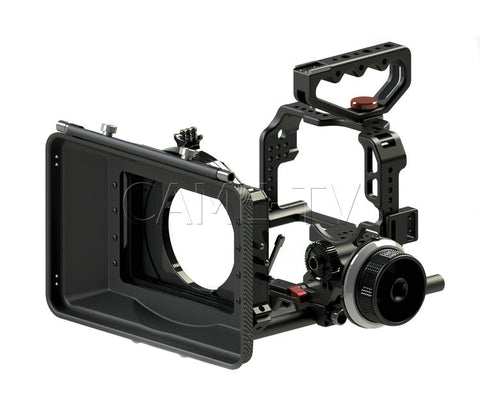GH4-PACK CAME-TV Protective Cage Plus For GH4 Camera With Mattebox Follow Focus