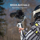MOZA Aircross 2 Gimbal Stabilizer for DSLR Mirrorless BMPCC4K A7R3 Z7 EOSR