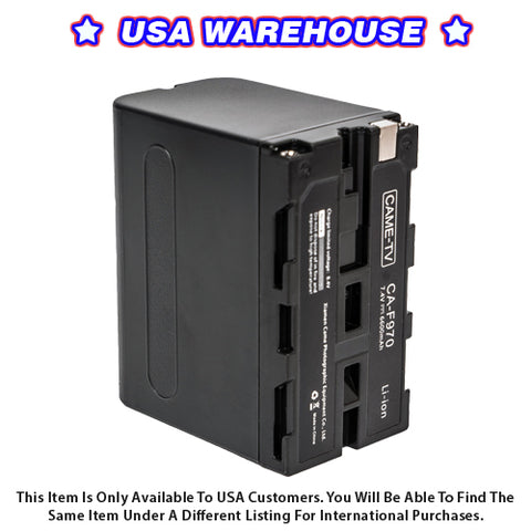CAME-TV CA-F970 Battery - USA Warehouse