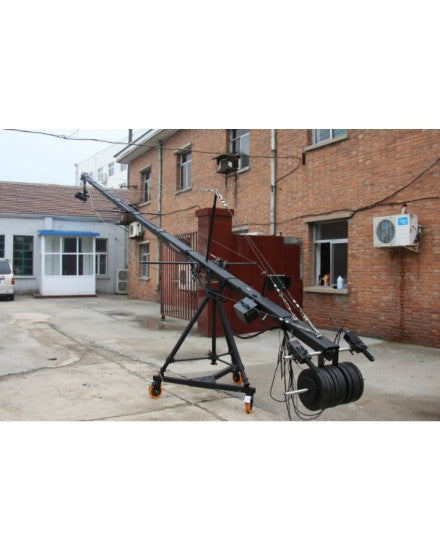 PRO-1 32.5ft Pan Tilt Head 10 Kilo Camera Jib Arm Crane Kit