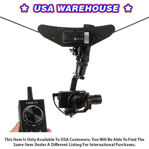 CAME-TV Carbon Fiber CableCam Pro - USA Warehouse