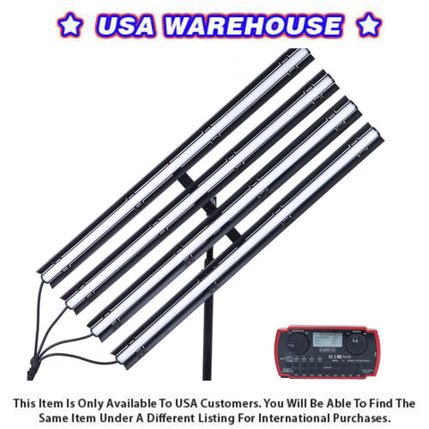 Boltzen Andromeda Slim Tube LED Light 4 Lights Kit 3FT (Daylight) - USA Warehouse