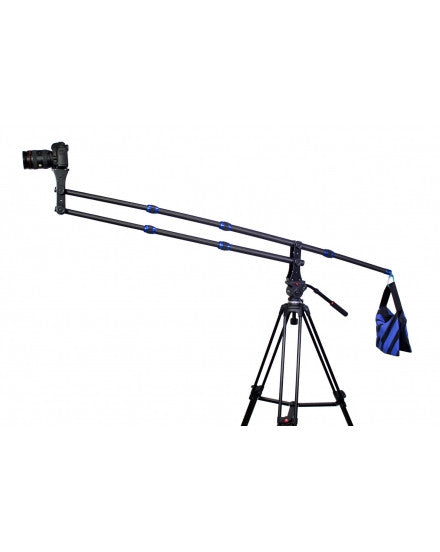 Portable Mini Carbon Fiber Camera Crane Jib Arm Crane Only 1.8kg