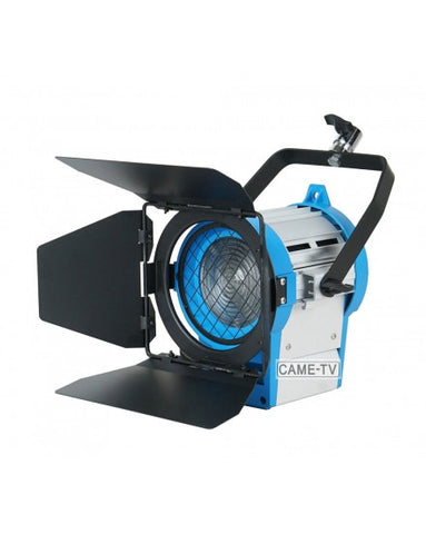 Pro 1000W Fresnel Tungsten Light + Dimmer Built-In Light