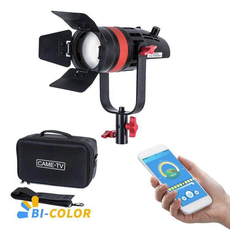 CAME-TV Q-55S Boltzen 55w High Output Fresnel Focusable LED Bi-Color 8700 Lux@1m