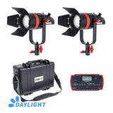 CAME-TV Q-55W Boltzen 55w MARK II High Output Fresnel Focusable LED Daylight 21000 Lux@1m