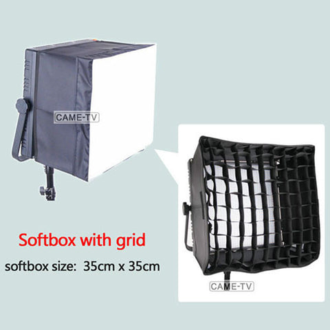 Soft Box With Grid For 1024 LED Video Light