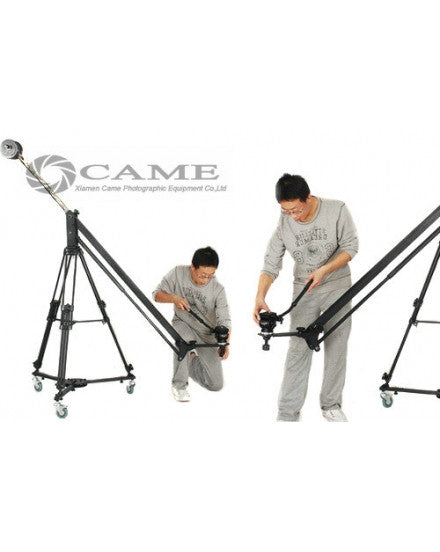 Standard Jib Arm Crane With Pan Head Tripod And Dolly