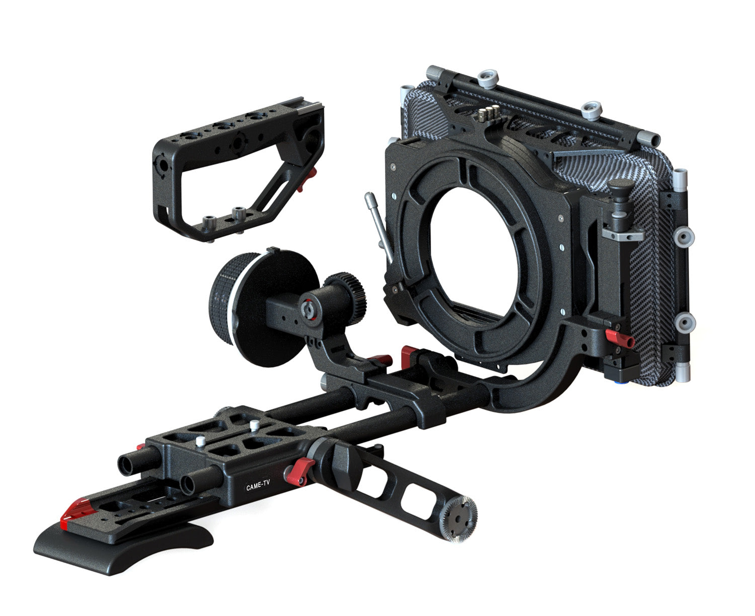 URSA-MINI-PACK CAME-TV URSA Mini Follow Focus Mattebox Rig