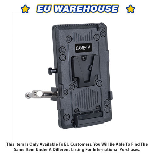 CAME-TV V-Mount Plate With Clamp - European Warehouse