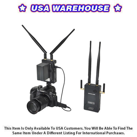 CAME-TV Wireless HD Video Kit Crystal-800 - USA Warehouse