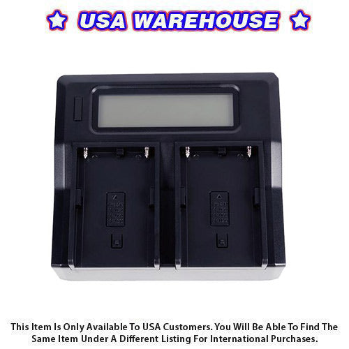 CAME-TV BP Dual Charger - USA Warehouse