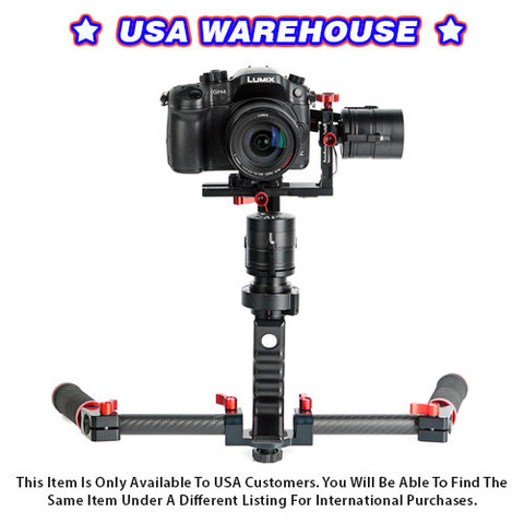 CAME-Single 3 Axis Gimbal Camera 32bit boards with Encoders (w/ dual handle kit) - USA Warehouse