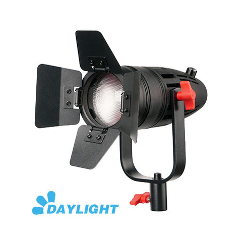 1 Pc CAME-TV Boltzen 30w Fresnel Fanless Focusable LED Daylight With Bag