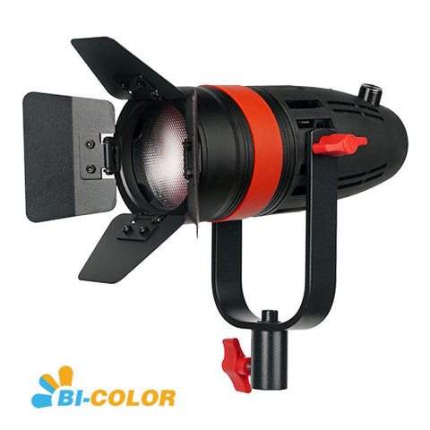 1 Pc CAME-TV Boltzen 55w Fresnel Focusable LED Bi-Color With Bag