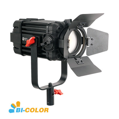 1 Pc CAME-TV Boltzen 60w Fresnel Fanless Focusable LED Bi-Color