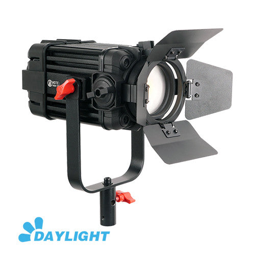1 Pc CAME-TV Boltzen 60w Fresnel Fanless Focusable LED Daylight