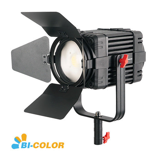 CAME-TV Boltzen 100w Travel Kits Fresnel Fanless Focusable LED Bi-Color B-100S 16000 Lux@1m