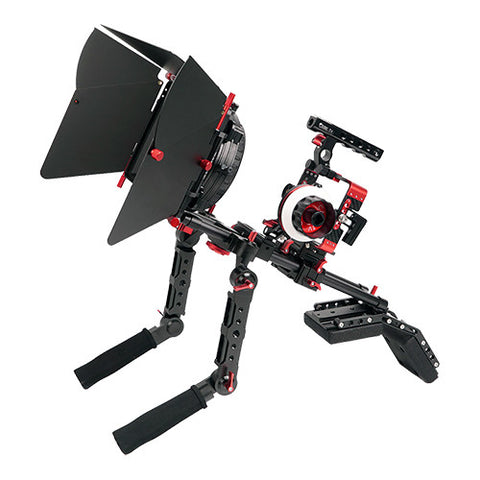 CAME-TV Sony A7 Series Cameras Carbon Fiber Rig Mattebox Shoulder Support Kit