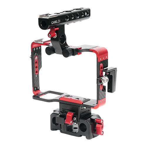 CAME-TV Sony A7 Series Cameras Carbon Fiber Cage With 15mm Rod Base