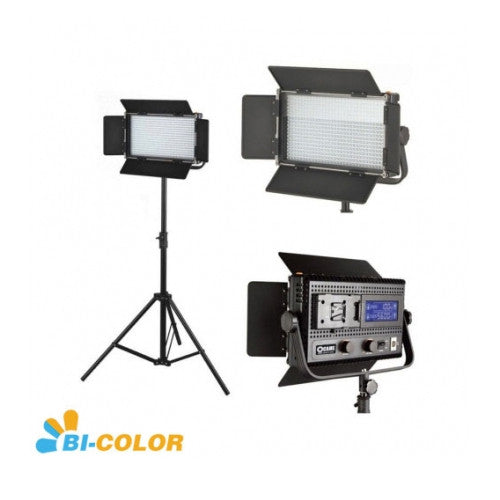 576 LED Light Dimmable Bi-Color 5600K 3200K Digital Display