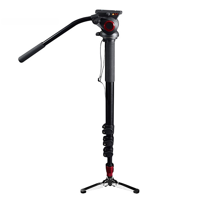 CAME-TV Aluminum Monopod With Pivoting Foot Stand 705A