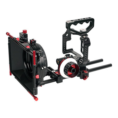 CAME-TV Protective Cage For GH4 Camera W/ Mattebox Follow Focus